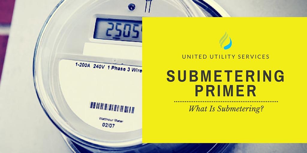Submetering Primer What Is Submetering